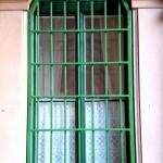 ablakrács tégla mita