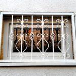 biztonsági rács ablakrács egyedi méretre gyártva